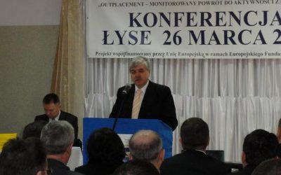 """OUTPLACEMENT"" konferencja w Łysych"