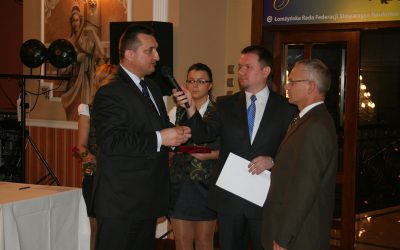 Bal z okazji 35-lecia Naczelnej Organizacji Technicznej w Łomży.