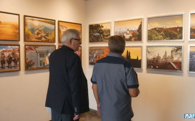 Łomża i Wilno w kolorach. Fotografie Bożeny Mozyro w Galerii pod Arkadami w Łomży.