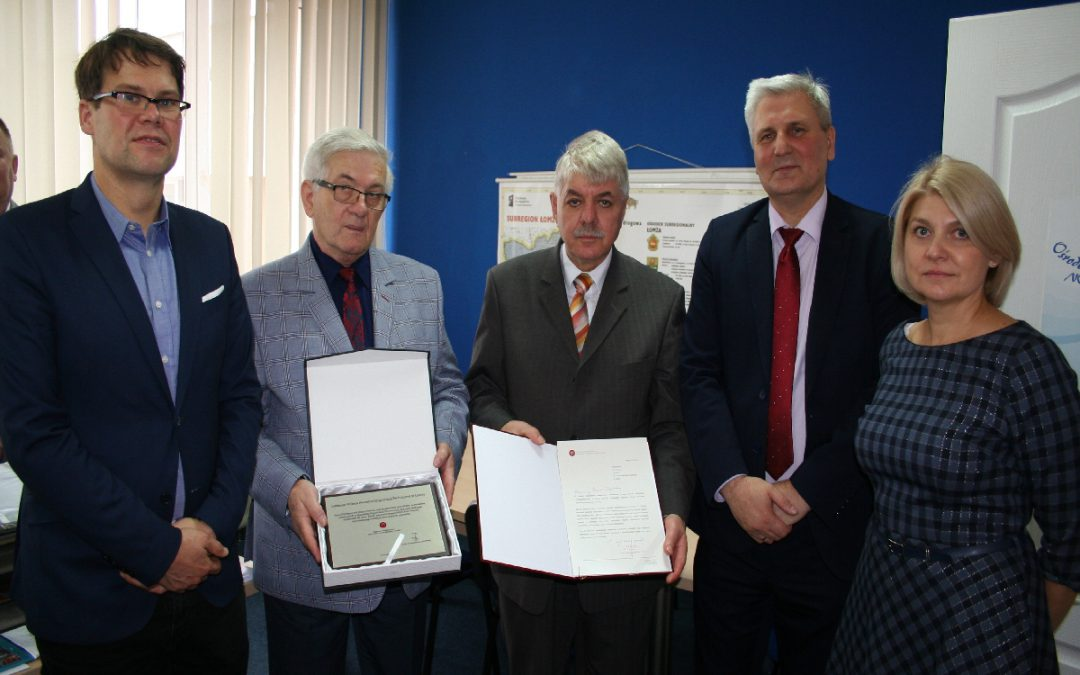 Spotkanie z Rektorem PWSIiP w Łomży  – 19.10.2018