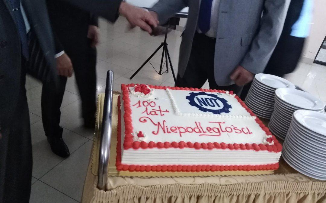 Naczelna Organizacja Techniczna w Łomży w 100 Lecie ODZYSKANIA NIEPODLEGŁOŚCI